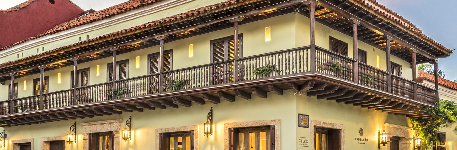 Restaurante Clero del Hotel Capellán, participante de Dónde Restaurant Week 2019 en en Cartagena de Indias