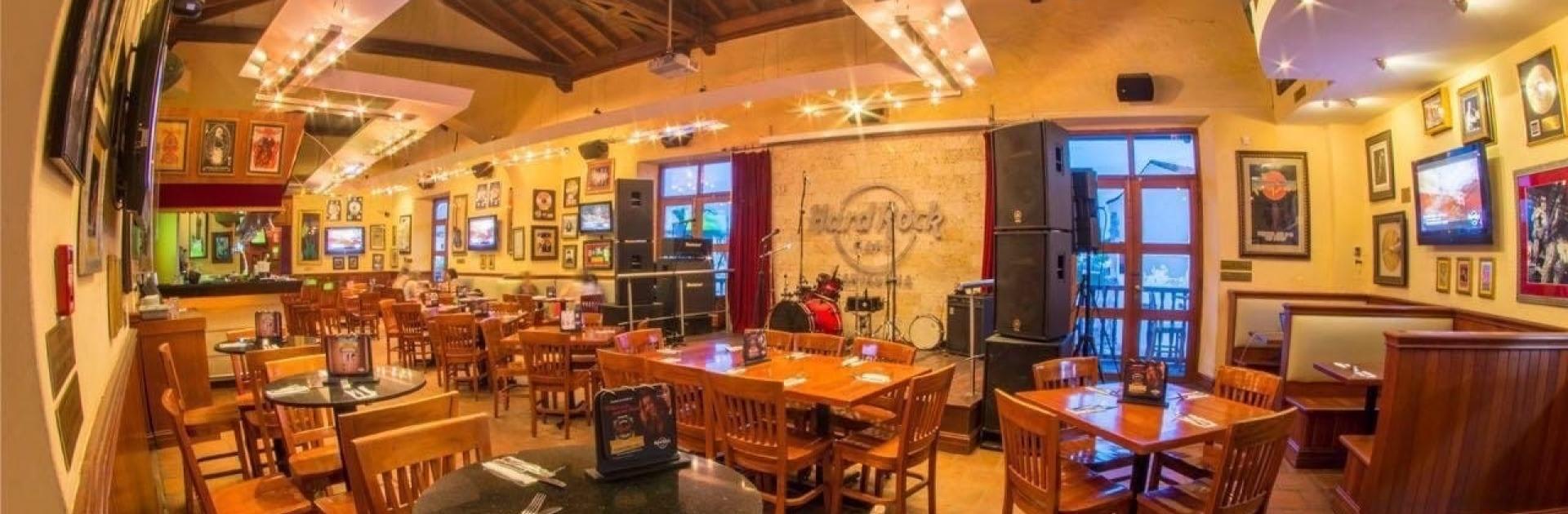 Hard Rock Café Cartagena, participante de Dónde Restaurant Week 2019 en Cartagena de Indias