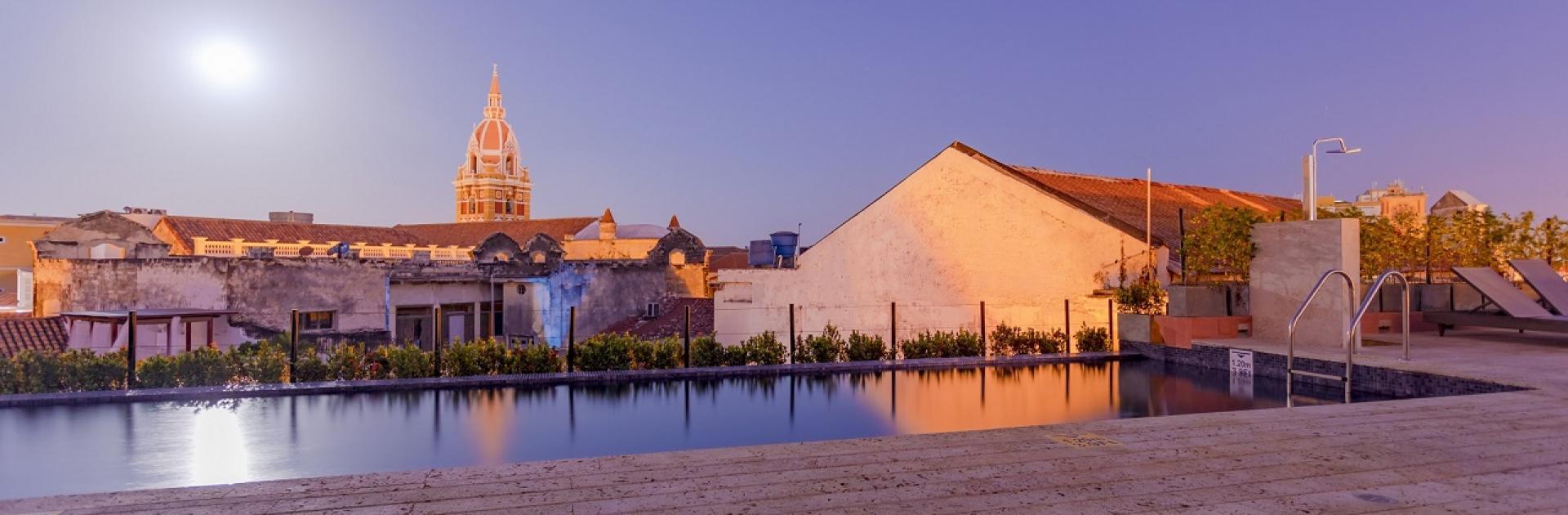 Rooftop La Cata en el Santa Catalina Hotel, participante de Dónde Restaurant Week 2019 en Cartagena de Indias